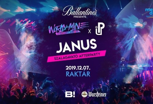 Janus ✘ World is mine x Party up Afterparty