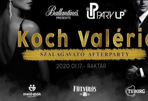 KOCH VALÉRIA Szalagavató After Party