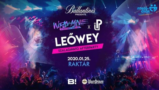 LEŐWEY ✘ WORLD IS MINE x PARTY UP Afterparty