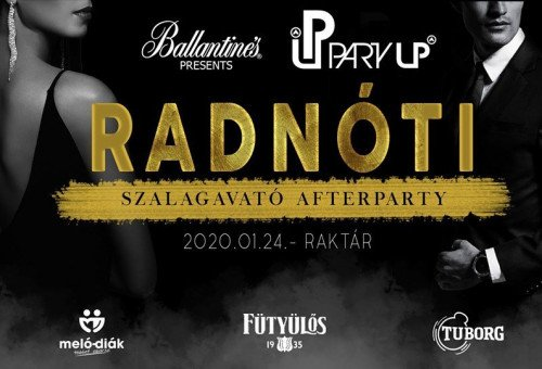 Radnóti Szalagavató After Party
