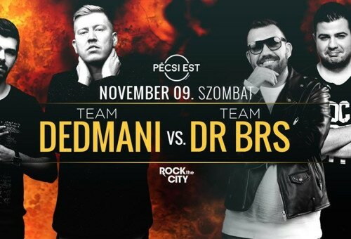 Team Dedmani Vs. Team Dr Brs by Rock The City