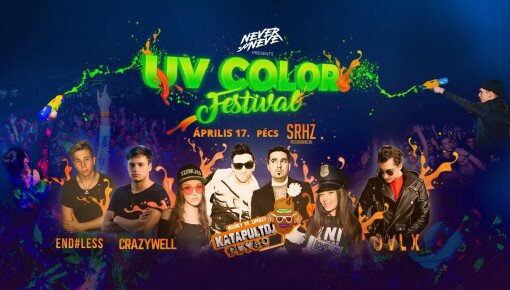 UV Color Festival w/Katapult Dj